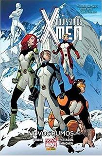 3 Hq Marvel Capa Dura X-men Novíssimos Lacrados
