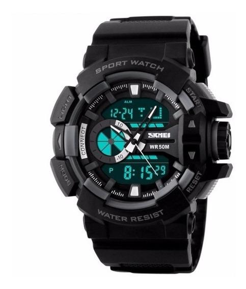 Relógio Masculino Esportivo Digital Militar À Prova D