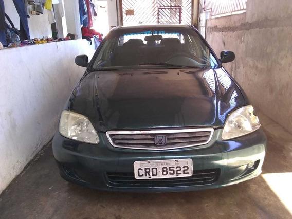 Honda Civic 99 1.6 4p Vendo/troco Por Palio Weekend 2002