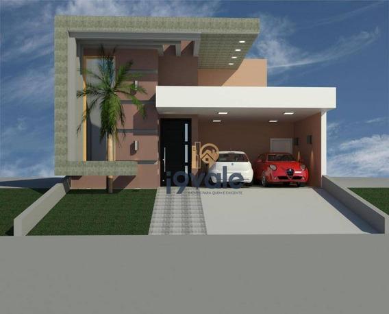 Casa Com 3 Dormitórios À Venda, 160 M² Por R$ 700.000,00 - Villa Branca - Jacareí/sp - Ca1395