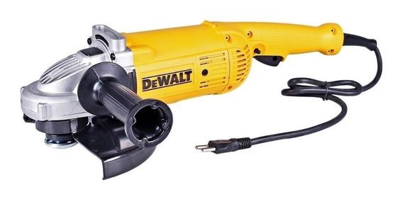 Esmerilhadeira angular DeWalt DWE490 de 50Hz/60Hz amarela 220V