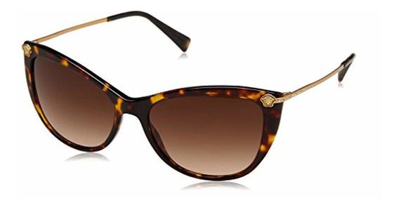 Versace Gafas De Sol Ve4345b Para Mujer 57mm