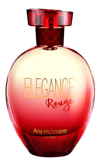 Elegance Rouge Anahickmann Deo Colônia Perfume Feminino 80ml