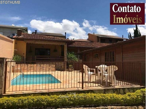 Imagem 1 de 15 de Casa Piscina 6 Quartos Venda Em Atibaia - Ca0725-1