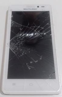 Smartphone Multilaser Ms5 - Com Defeito Para Uso De Peças