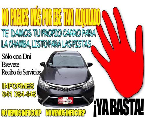 Chambea En Tu Propio Taxi Y No Alquiles Mássss...