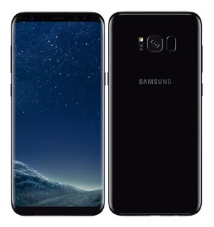 Celular Libre Samsung Galaxy S8 Plus 64 Gb/ Color Negro