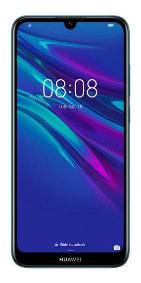 Telefono Celular Huawei Y6 2019 Azul Zafiro+gift Box Regalo