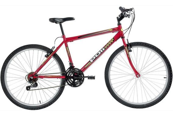 Bicicleta Polimet Mtb Aro 26 V-brake 18v