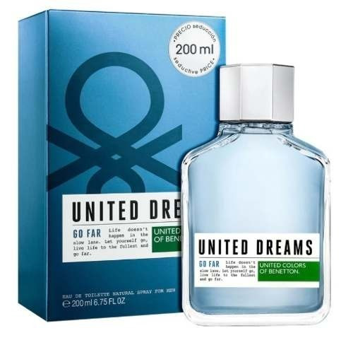 United Dreams Go Far Eau De Toilette Benetton - 200ml