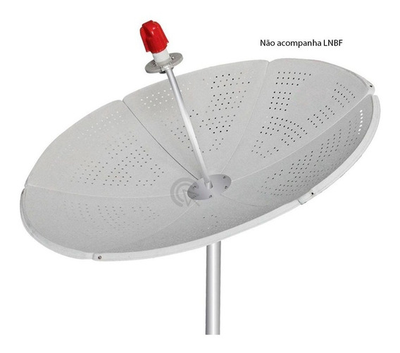 Antena Parabolica Via Satélite Digital Chapa 1,5m Bengala