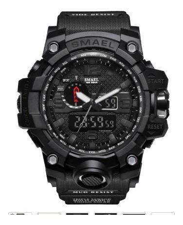 Relógio Masculino Militar Shock Esportivo Smael 1545 /5