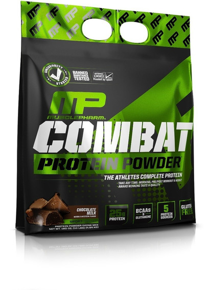 Proteina Mp Combat 10 Lbs Chocolate Musculos Gym Suplemento