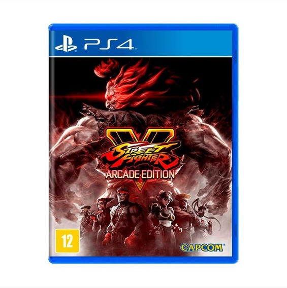 Street Fighter V - Arcade Edition - Ps4 - Mídia Física
