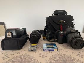 Nikon D5000 E Acessórios Variados