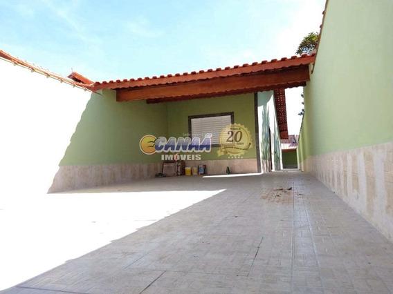 Casa A Venda Com 3 Dormitórios Em Mongaguá Ref. 7886 E