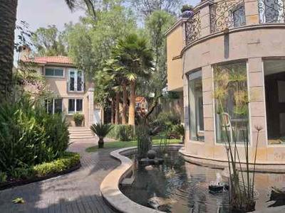 Casa En Renta Con Uso De Suelo Para Embajada, Las Lomas