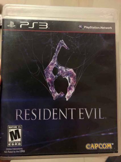 Jogo Resident Evil 6 Ps3 Midia Fisica