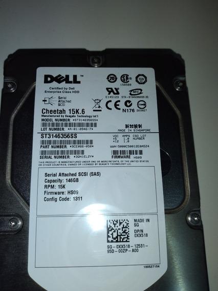 Hd Dell Sas 146gb 15k /0xx518/st3146356ss 9ce066-050