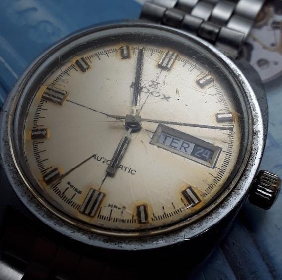 Relógio Edox Automático Máquina Eta 2789