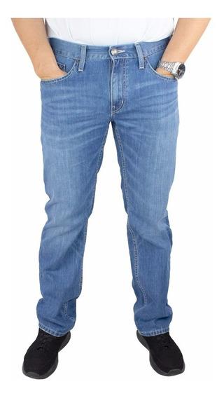 Pantalones Hombre Mezclilla Straight Fit. Estilo 3264