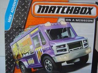 Mini Van Food Truck Da Matchbox