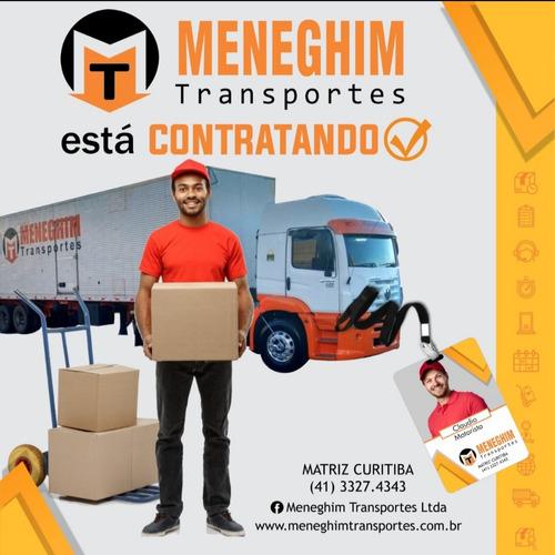 Motorista Carreteiro Meneghim Transportes