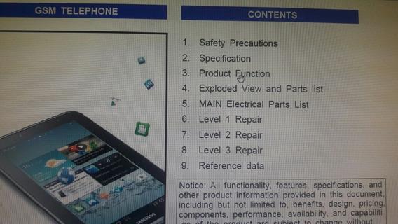 Esquema Eletrico Tablet Samsung Gt P3100