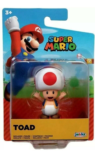Imagen 1 de 1 de Figura Toad - Super Mario - Jakks