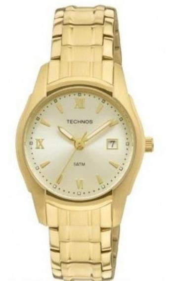 Relógio Technos Feminino Dourado Pequeno 2015bypbow/4x