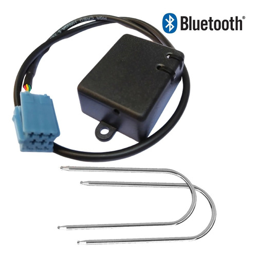 Adaptador Bluetooth Fiat 500 Mexicano + Chaves Remoção Radio