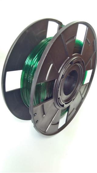 Filamento Pla Premium 1.75mm 200g Verde Translucido Caneta3d