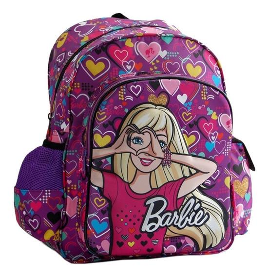 Mochila Espalda Mediana 15 PuLG Barbie 16044 Mundo Manias