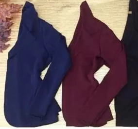 Blazer Neoprene Feminino Plus Size Casaco Inverno Frio Lindo
