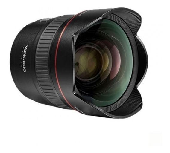 Lente Yn 14mm F/2.8 Para Canon Yongnuo
