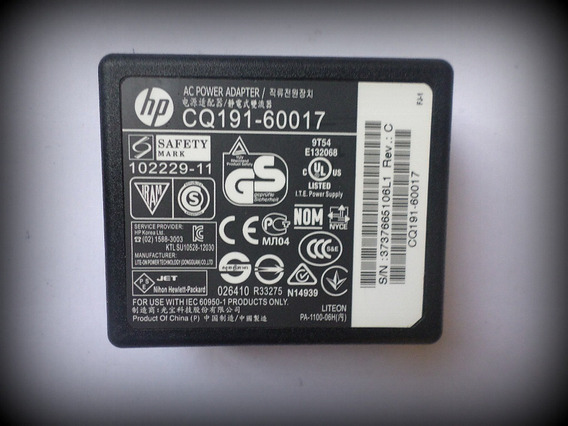 Fonte Impressora Hp Deskjet Cq191-60017