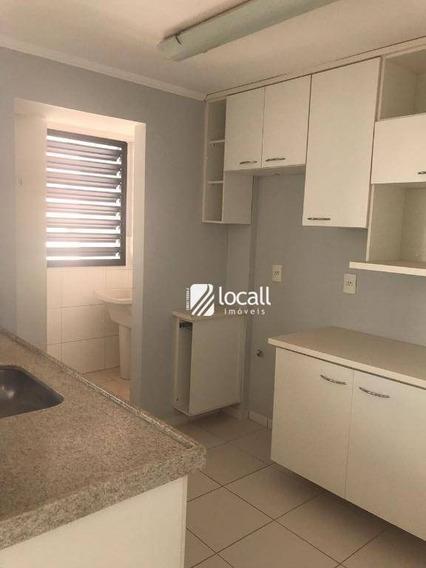 Apartamento Com 3 Dormitórios À Venda, 92 M² Por R$ 450.000 - Jardim Vivendas - São José Do Rio Preto/sp - Ap1915