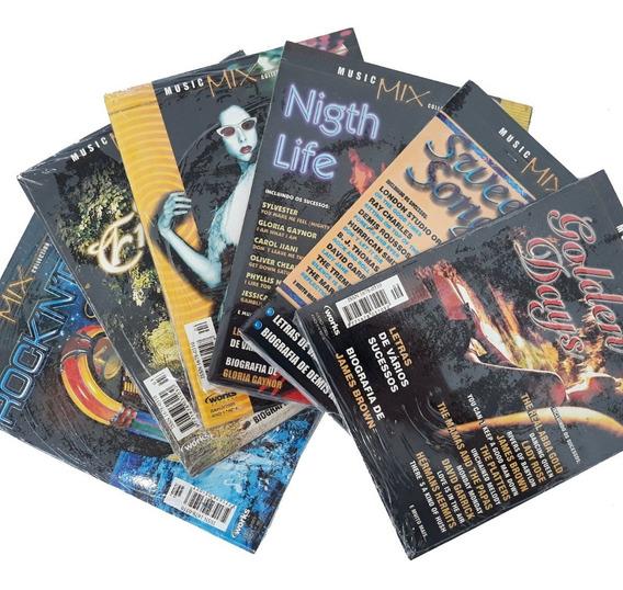 Revista Cd 6 Exemplares Music Mix Rock And Roll Golden Days