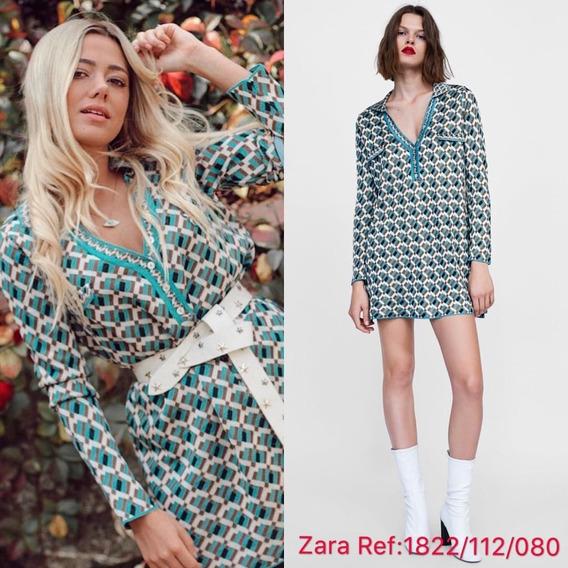 buscar oficial calidad primero elige el más nuevo Vestidos Zara De Fiesta Cortos Mujer - Vestidos Celeste en ...