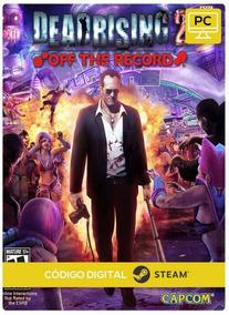 Dead Rising 2: Off The Record-pc(mídia Digital Steam Cd-key)
