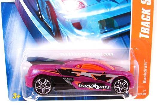 Hot Wheels - Backdraft -track Stars - # 112 De 156 - 2007