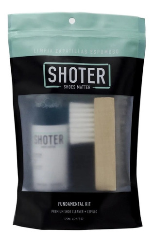 Imagen 1 de 1 de Limpia Zapatillas Shoter - Kit (limpiador Premium + Cepillo)