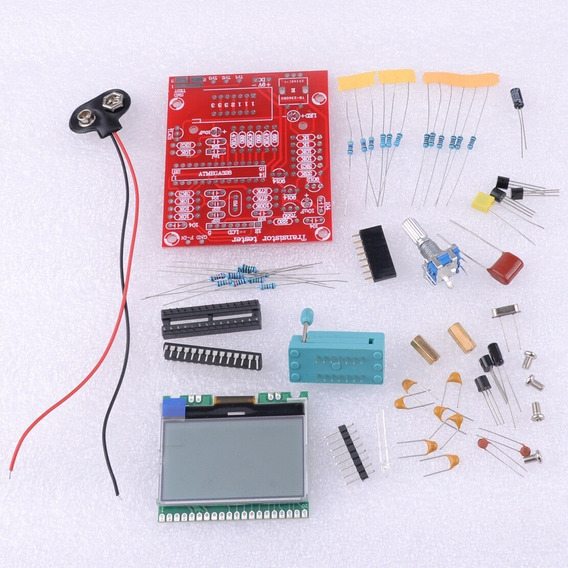 Kit Montagem De Testador De Componentes Eletrônicos M328