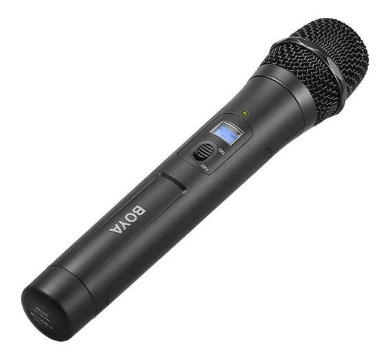 Microfone De Mão Sem Fio Boya By-whm8 Pro Uhf 48 Canais