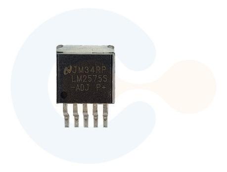Regulador De Tensão Step-down Lm2575s - Adj (smd-to263)