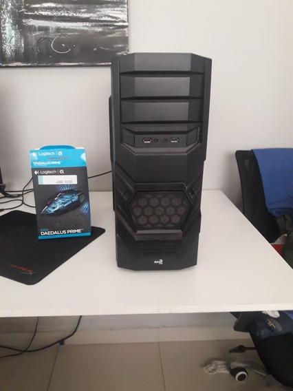 Pc Gamer Gtx 1060 3gb Msi + Intel G4560 +mouse Logitech G302