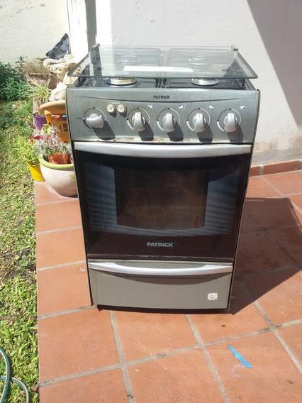Cocina Patrik Gris A Gas