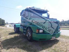 Scania T 112 320 Hs 1987 4x2 Motor Novo