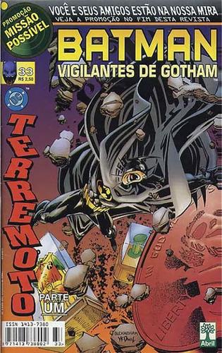 Imagem 1 de 1 de Batman Vigilantes De Gotham 33
