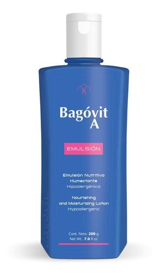 Bagovit A Emulsión Nutritiva Humectante Hipoalergénica 200g